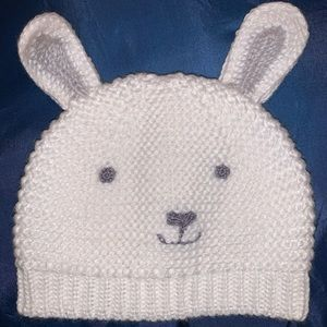 Easter bunny baby hat